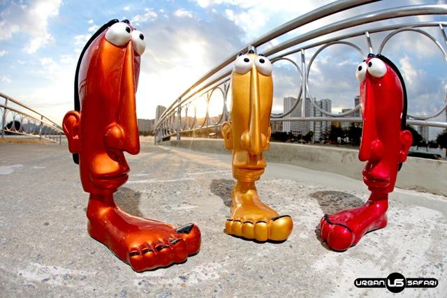 Chorão apoiava na consolidação da marca Urban Safari, que produz bonecos em resina e pintura automotiva