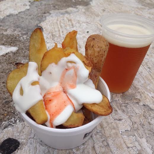 Para petiscar: as batatas bravas do chef Pedro Vita saem por R$ 12,00 e são bem levinhas na pimenta
