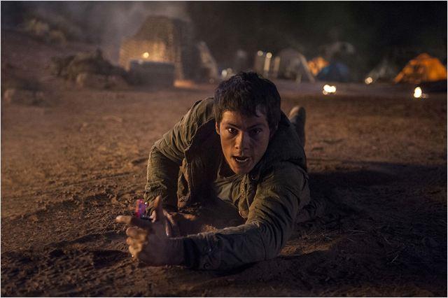 Maze Runner: Prova de Fogo: o ator Dylan OBrien, no papel do jovem Thomas