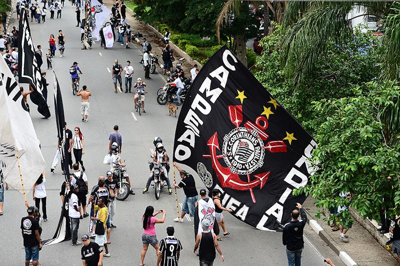 A Fiel recebeu o Corinthians em SP