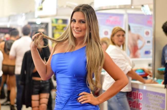 Vanessa Alcântara, ex-namorada do fiscal Luis Alexandre Magalhães
