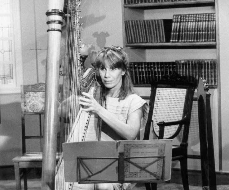 """Na novela """"Transas e Caretas"""" (1984): a personagem é Sofia"""
