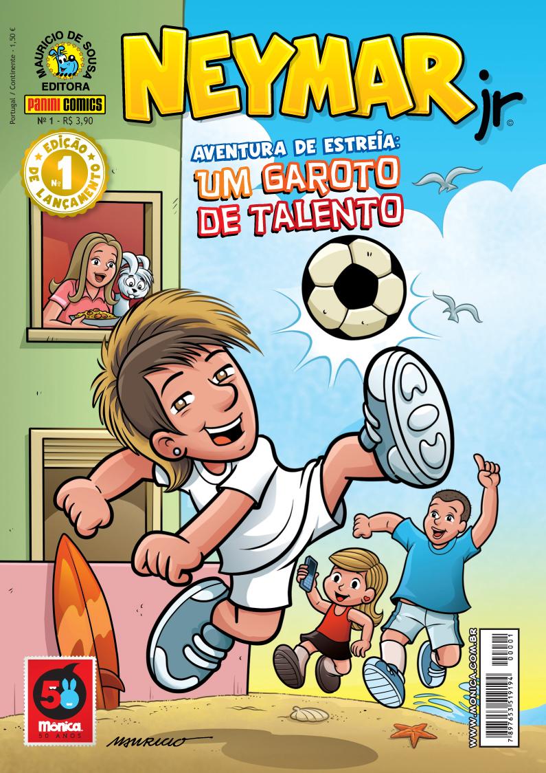 Neymar vira personagem e diz esperar que gibi incentive crianças a ...