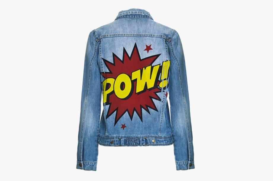 Jaqueta jeans: R$ 490,00