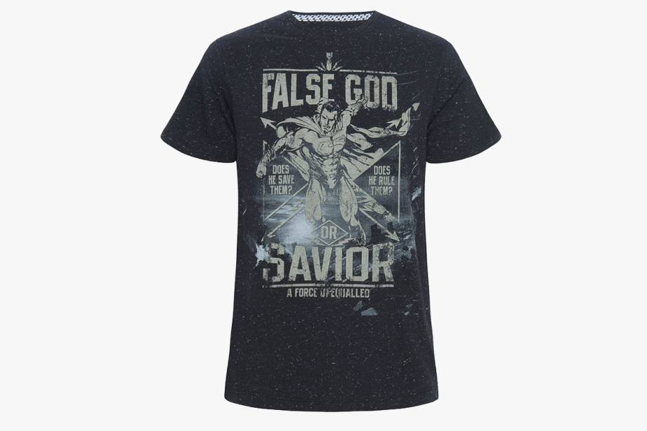 Camiseta em modelagem masculina: R$ 39,99