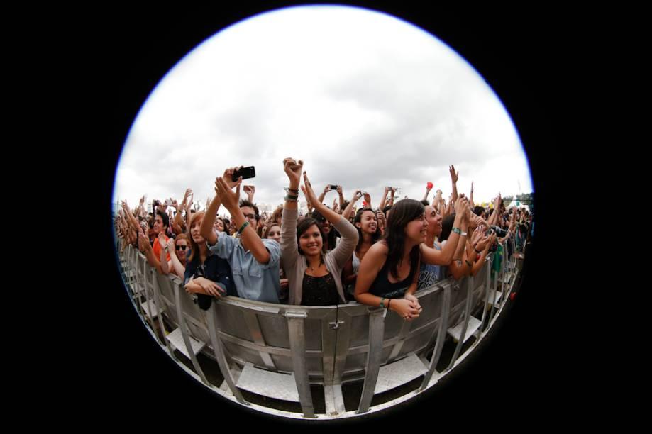 Of Monsters and Men: fãs curtem o show no palco Cidade Jardim