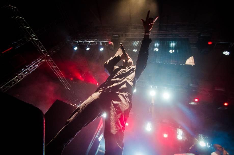 Emocionante o show de Nas no 2º dia do Lollapalooza 2013