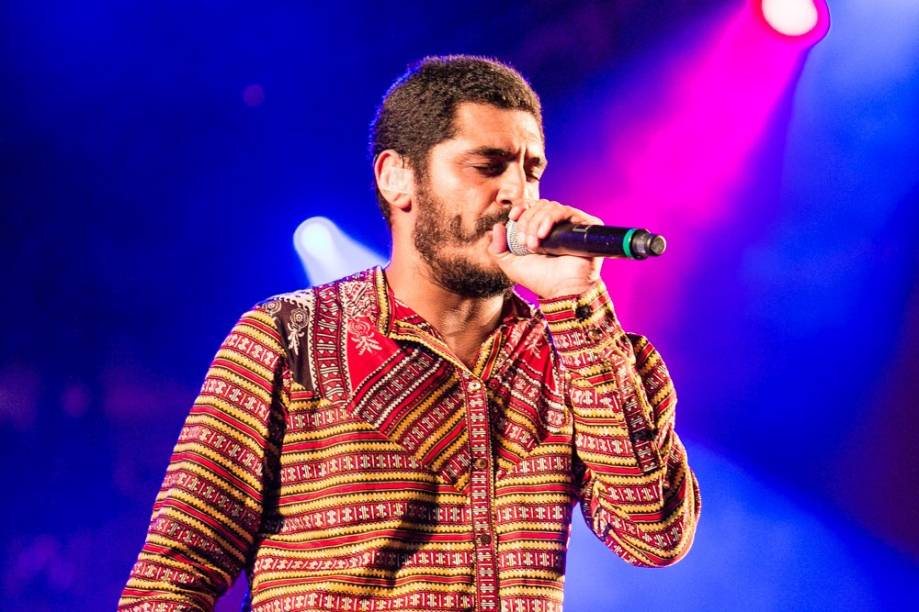 Criolo canta no 2º dia do Lollapalooza 2013