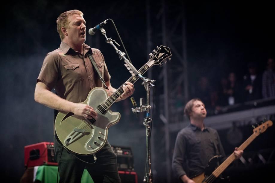 Queens of the Stone Age, uma das bandas mais esperadas do 2º dia do Lollapalooza 2013