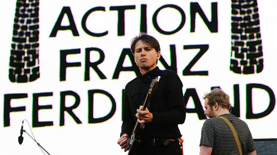 O Franz Ferdinand tocou no 2º dia do Lollapalooza 2013