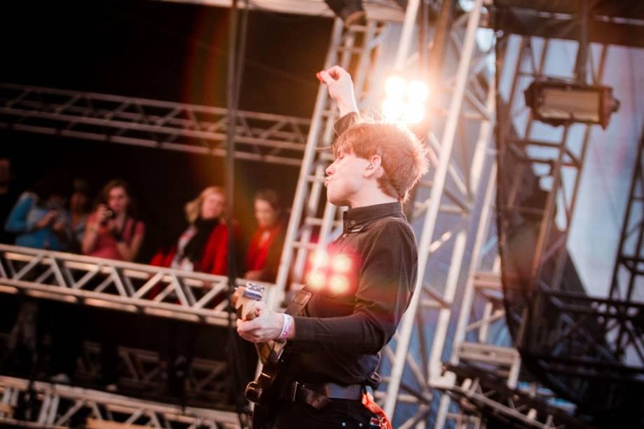 O Franz Ferdinand deixou o público com gostinho de quero mais no 2º dia do Lollapalooza