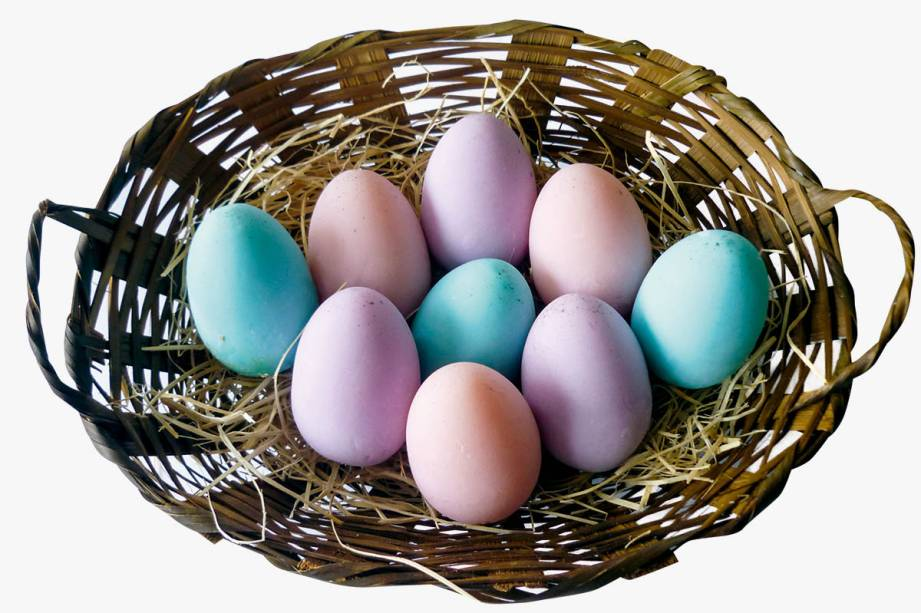 Sabonete artesanal em formato de ovo: R$ 16,00 cada um