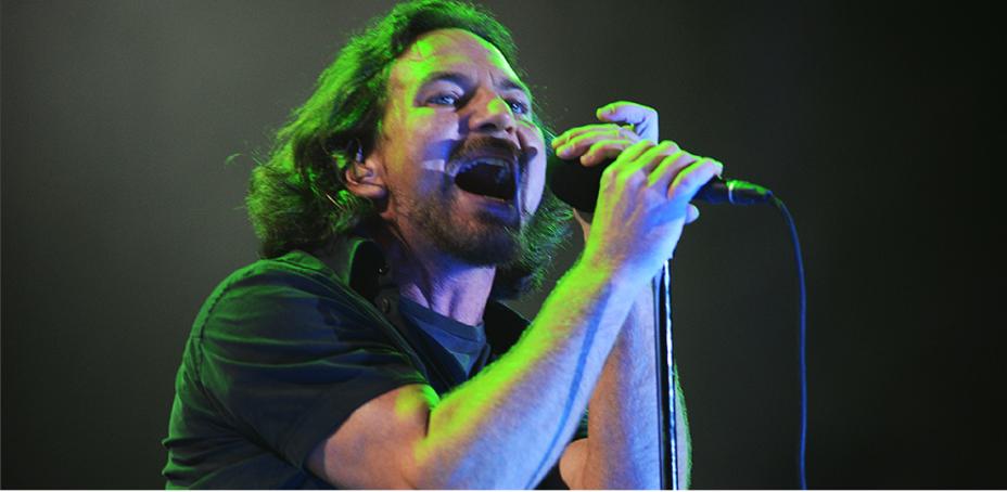Eddie Vedder subiu ao palco, com Pearl Jam