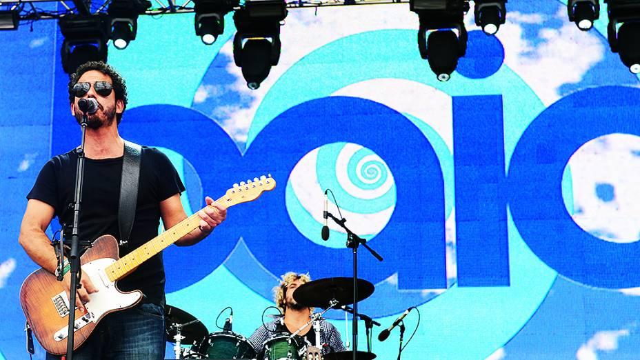 Banda Baia se apresentou em último dia de Lollapalooza