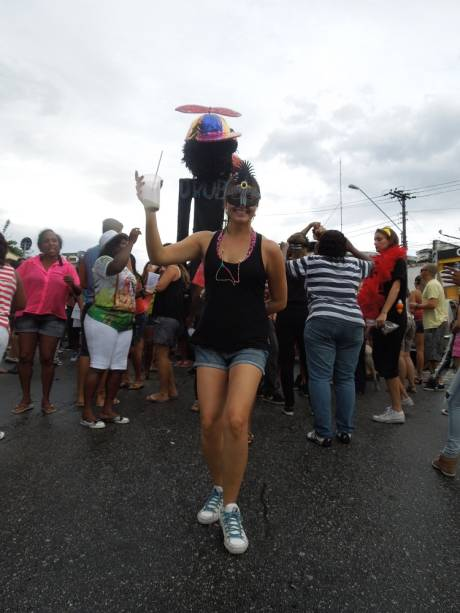 Carolina Duarte: uma das organizadoras do Bloco Urubó