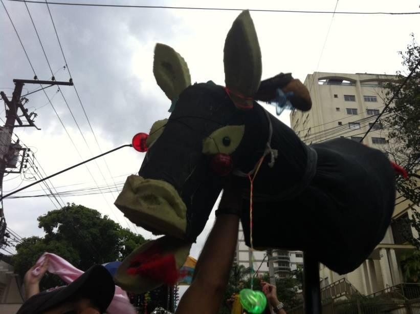 O símbolo do bloco de Carnaval Jegue Elétrico
