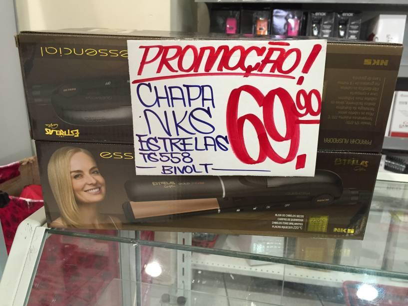Chapa NKS (69,90 reais)