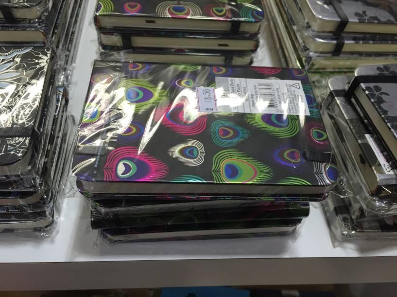 Caderno (18,50 reais)