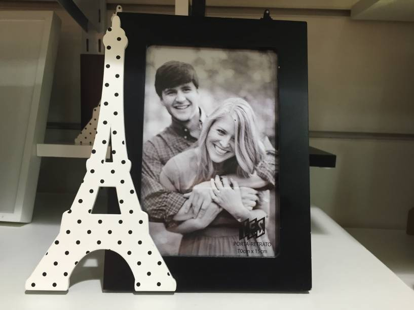 Porta-retrato Paris (31,50 reais)