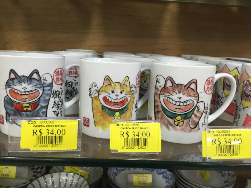 Caneca de gato (34 reais)
