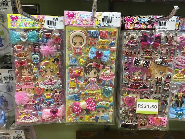 Adesivos (21,50 reais)