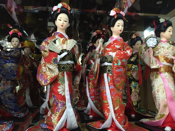 Boneca japonesa (65 reais)