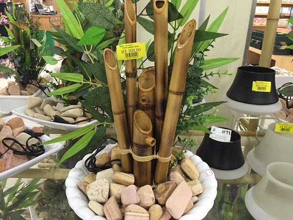 Fonte com bambu (300 reais)