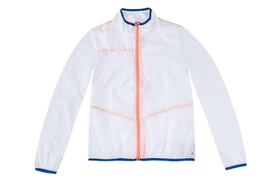 Jaqueta feminina de poliéster: R$ 139,99