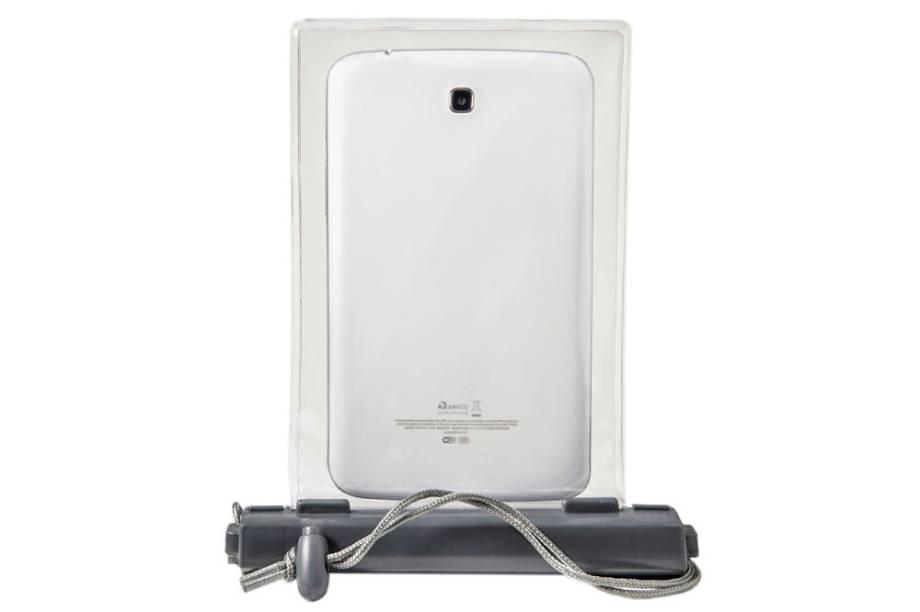 Bolsa à prova d'água para tablet, resistente a até 8 metros de profundidade: R$ 69,00
