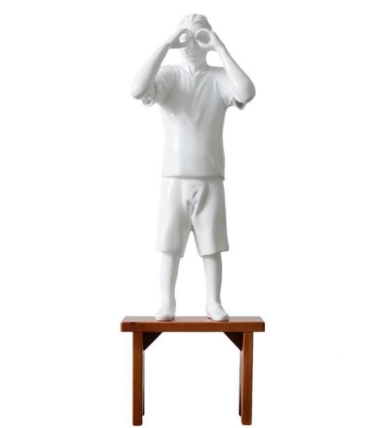 Escultura de Flávio Cerqueira: uma das 200 obras expostas na mostra Vértice