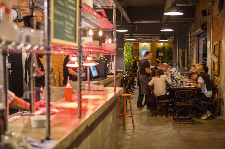 Ambiente desencanado: no bar Laranjeiras