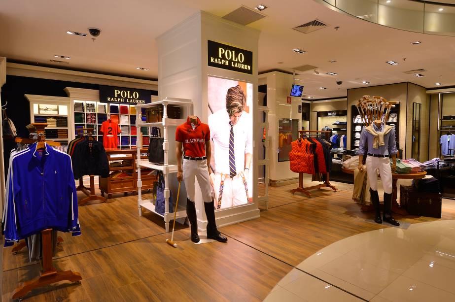 Loja vende apenas roupas e acessórios masculinos