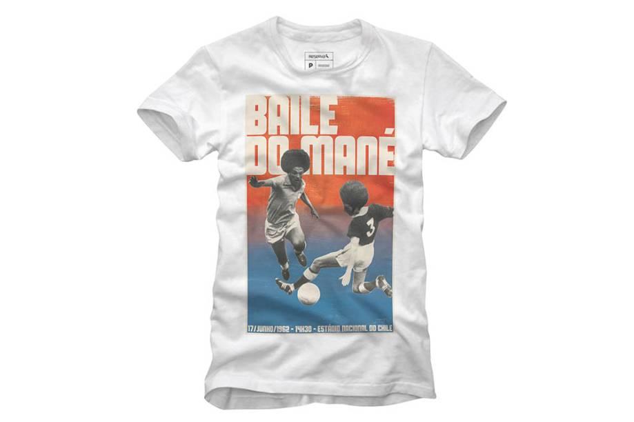 Camiseta: R$ 129,00