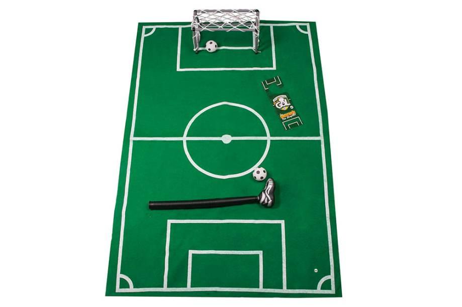 Kit de futebol para se distrair no banheiro: R$ 82,90