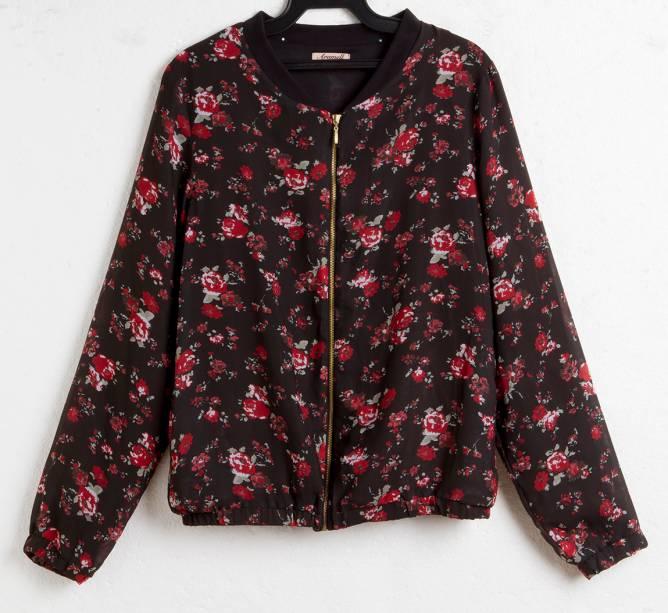 Bomber jacket. R$ 59,90.