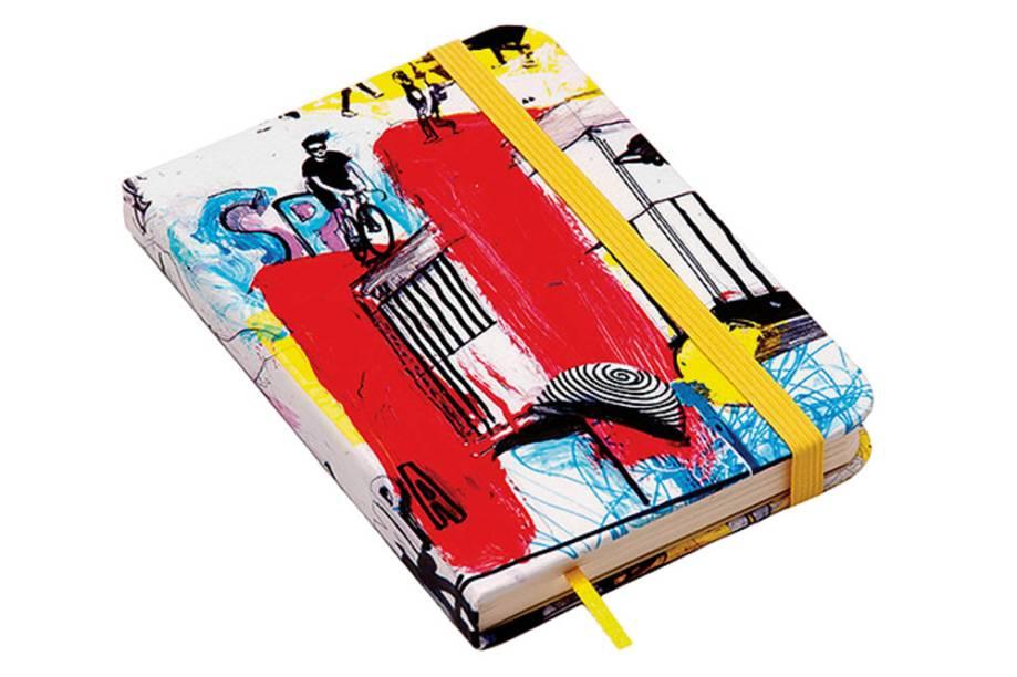 Caderneta com ilustração da Avenida Paulista: R$ 35,68