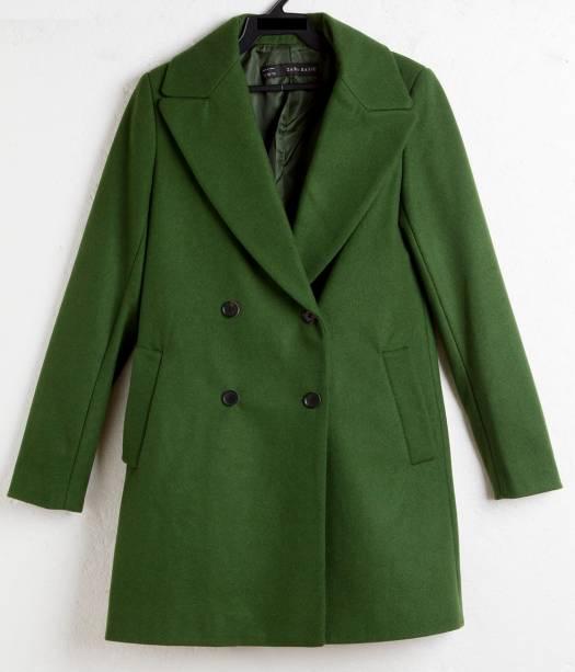 Casaco de lã. R$ 289,00.