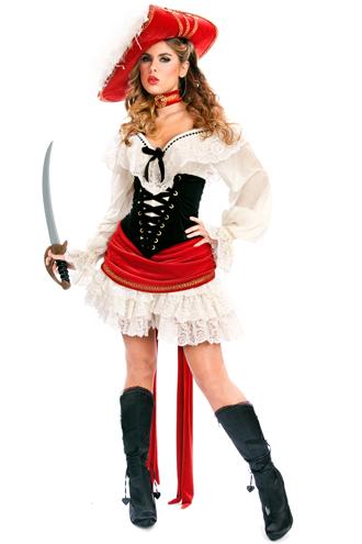 Fantasia de pirata luxo (Breshow)