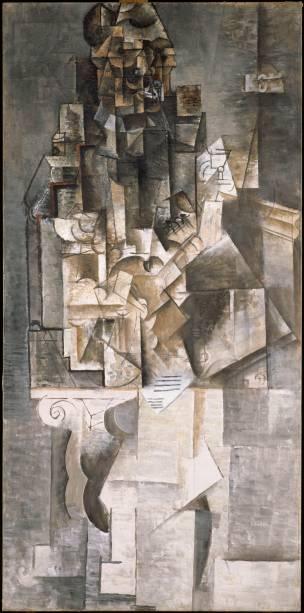 """""""Homem com Violão"""" é umas das joias do cubismo"""