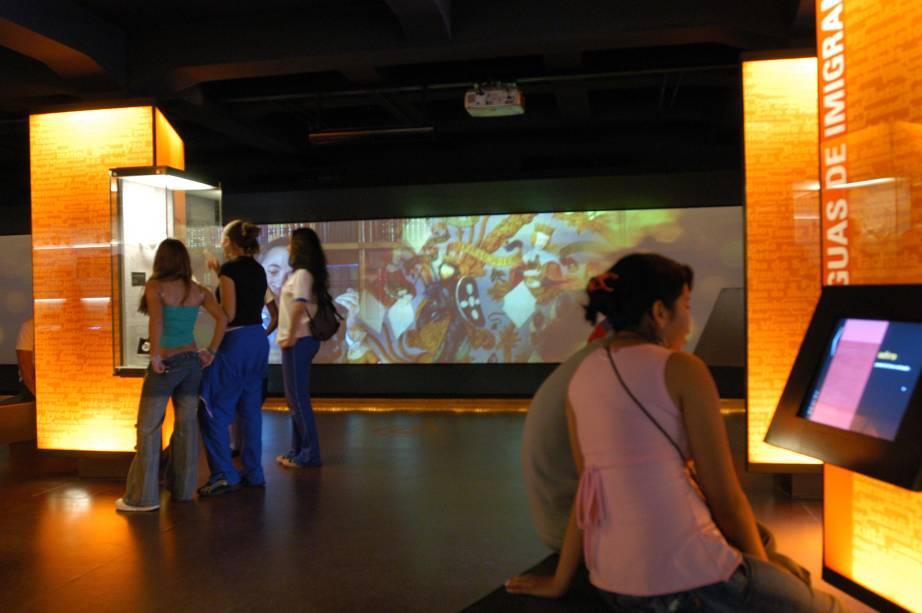 O espaço: um dos museus pioneiros em uso de tecnologia no Brasil