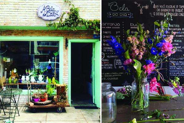 Começou como um serviço de entrega de flores em bicicleta e desdobrou-se numa loja