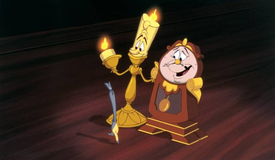 A Bela e a Fera: animação de 1991 chega aos cinemas em 3D