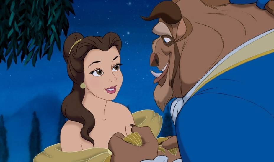 A Bela e a Fera: um príncipe amaldiçoado se apaixona por uma jovem