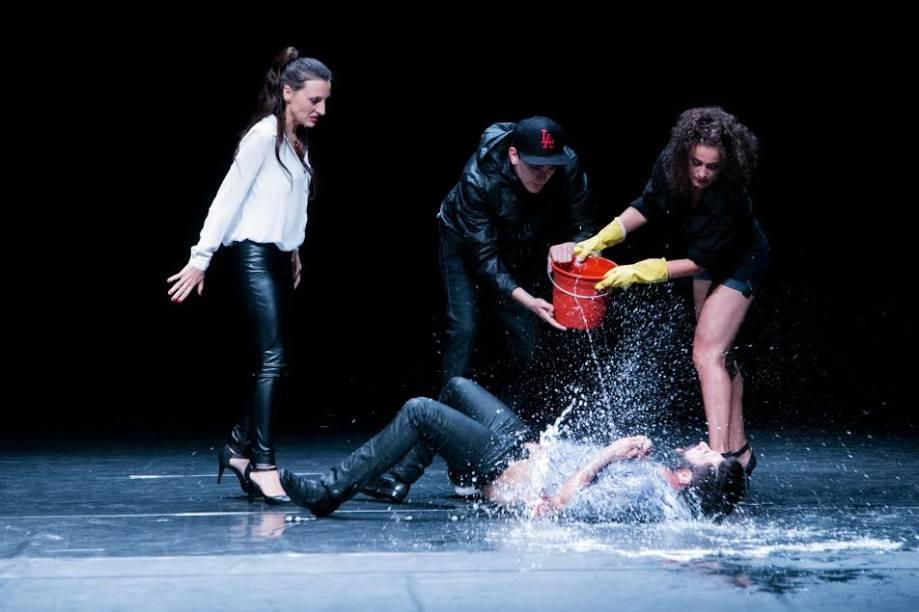 Lígia, Meloni, Alexandra e Vieira: montagem tensa