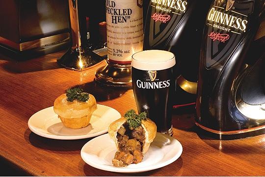 All Black tem chop Guinness por 15 reais