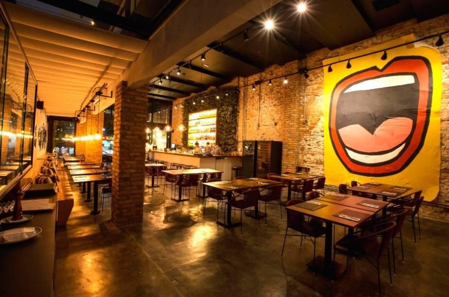 Ambiente do restaurante Méz
