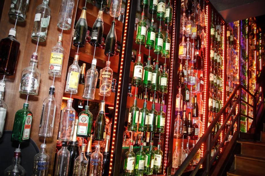 Decoração chama atenção no St. Georges Pub