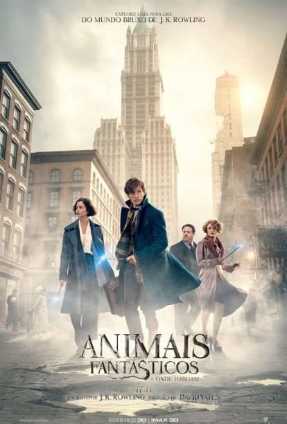 Pôster do filme Animais Fantásticos e Onde Habitam