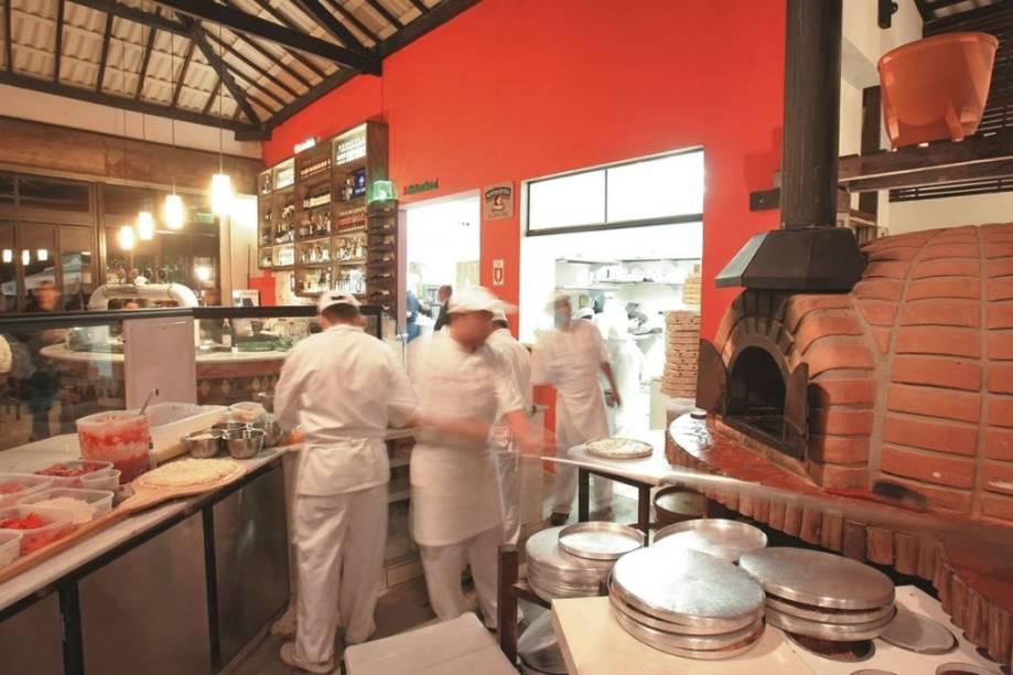 Pizzaria Antonietta: mais de sessenta coberturas