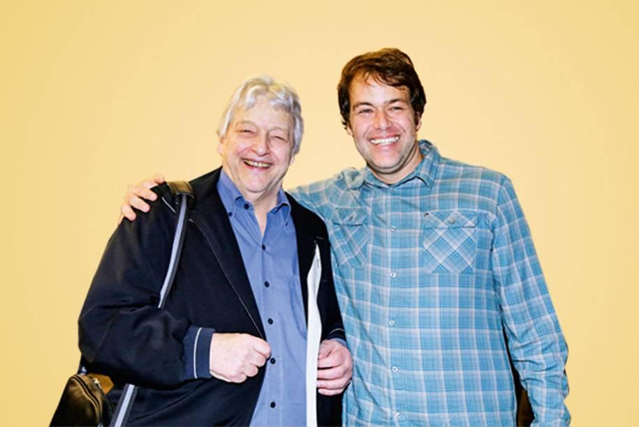 Fulvio Stefanini e Léo Stefanini